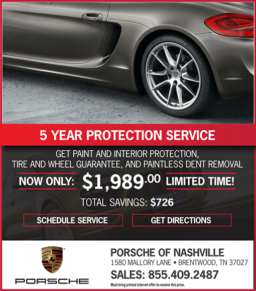 5 Year Protection Service